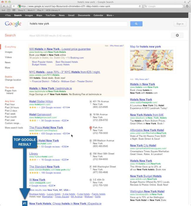 Google Highstreet