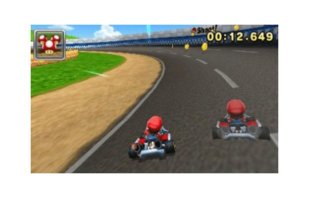 Mario Kart ghost kart