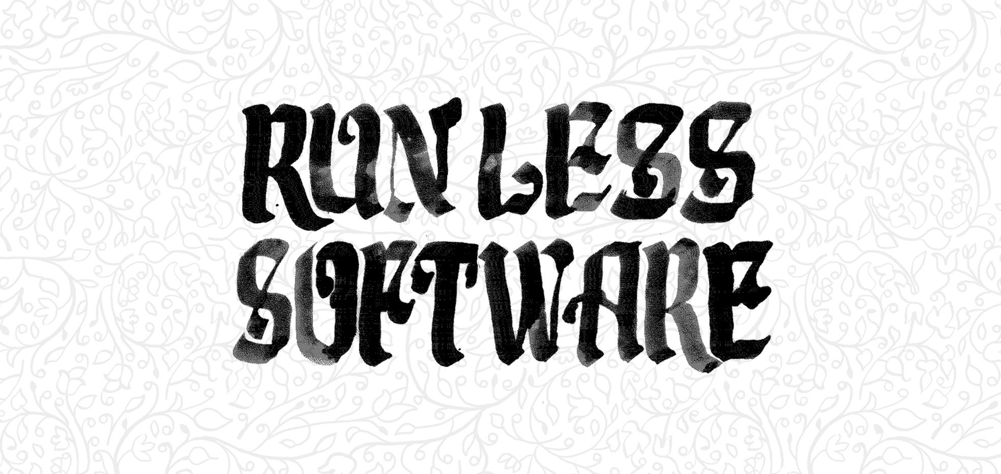 Run less software   Inside Intercom