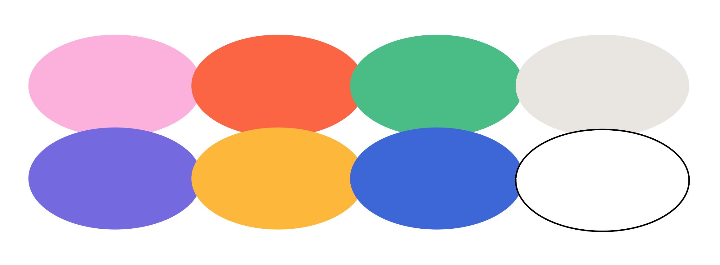 Final color palette selection