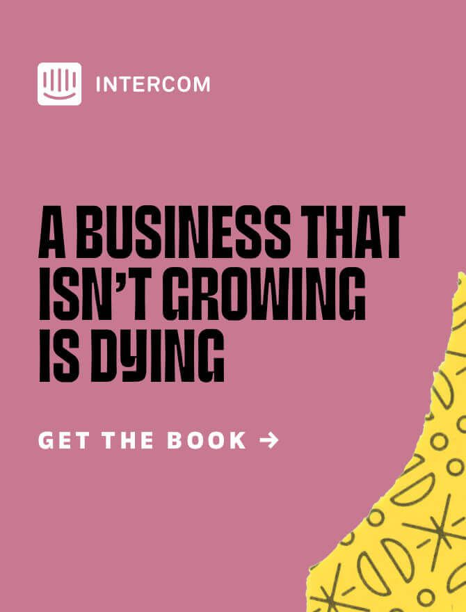 Download The Growth Handbook from Intercom