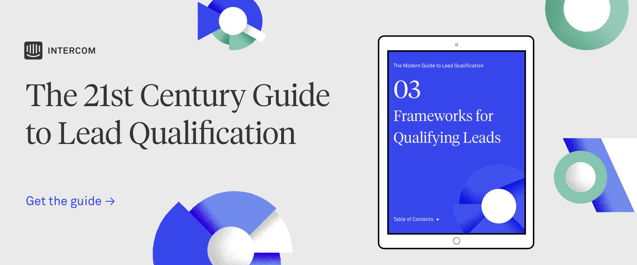 Lead Qualification Guide CTA