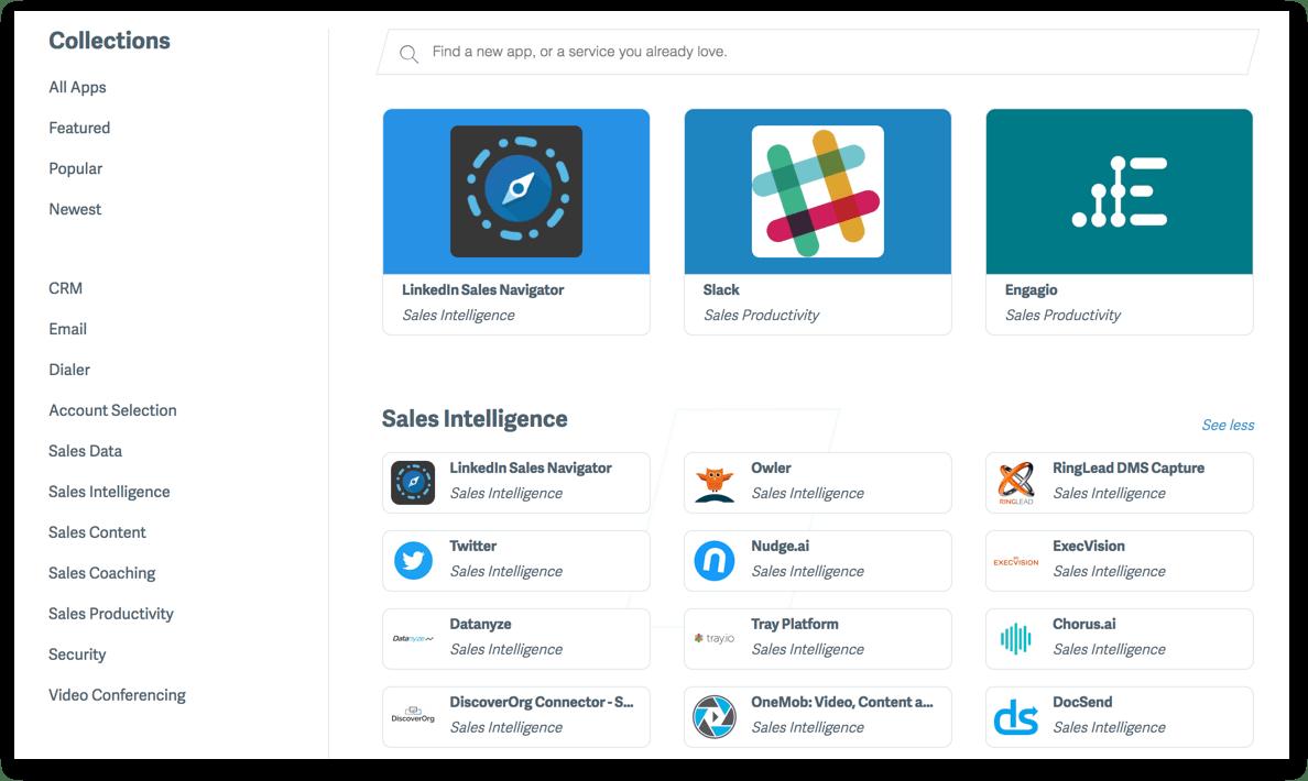 SalesLoft App Directory