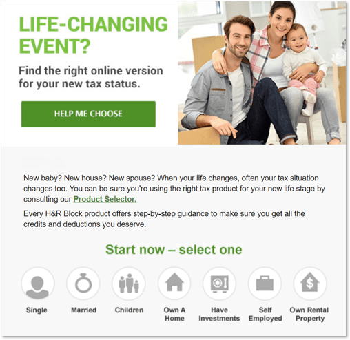 H&R Block email
