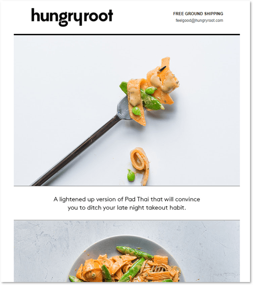 Hungryroot email