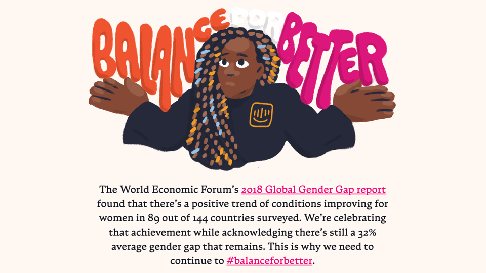 Celebrating diversity in our IWD microsite