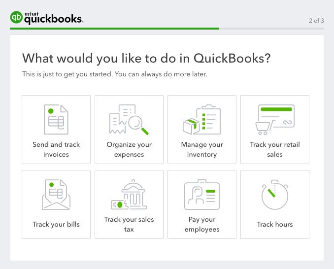Quickbook onboarding