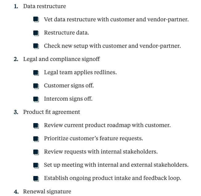 Complex Sales Deals Checklist