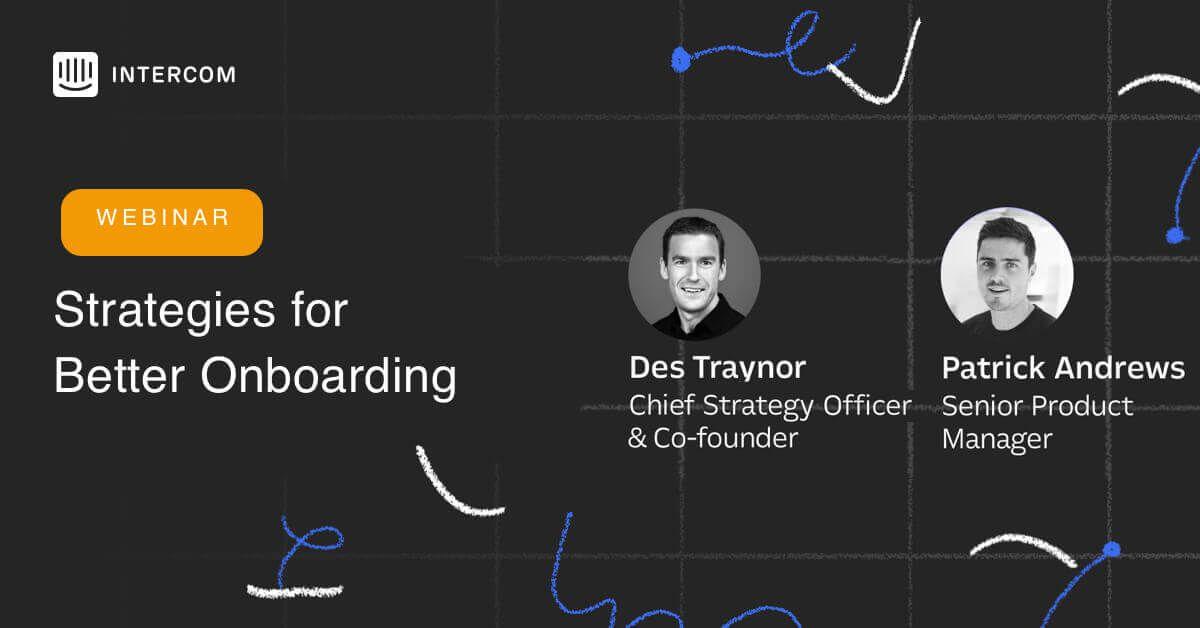 Onboarding strategies webinar CTA