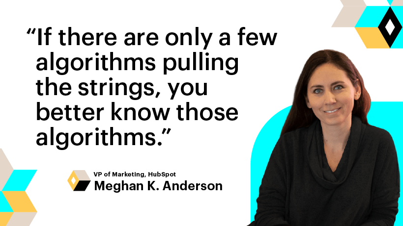 Meghan Keaney Anderson on adapting to the internet