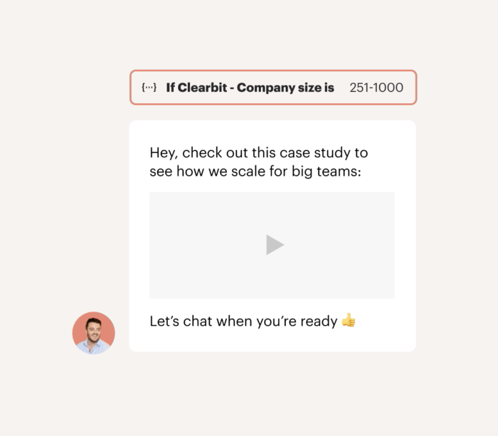 The Clearbit Reveal app for Intercom gives us the information we need to make fast, accurate decisions about our prospects