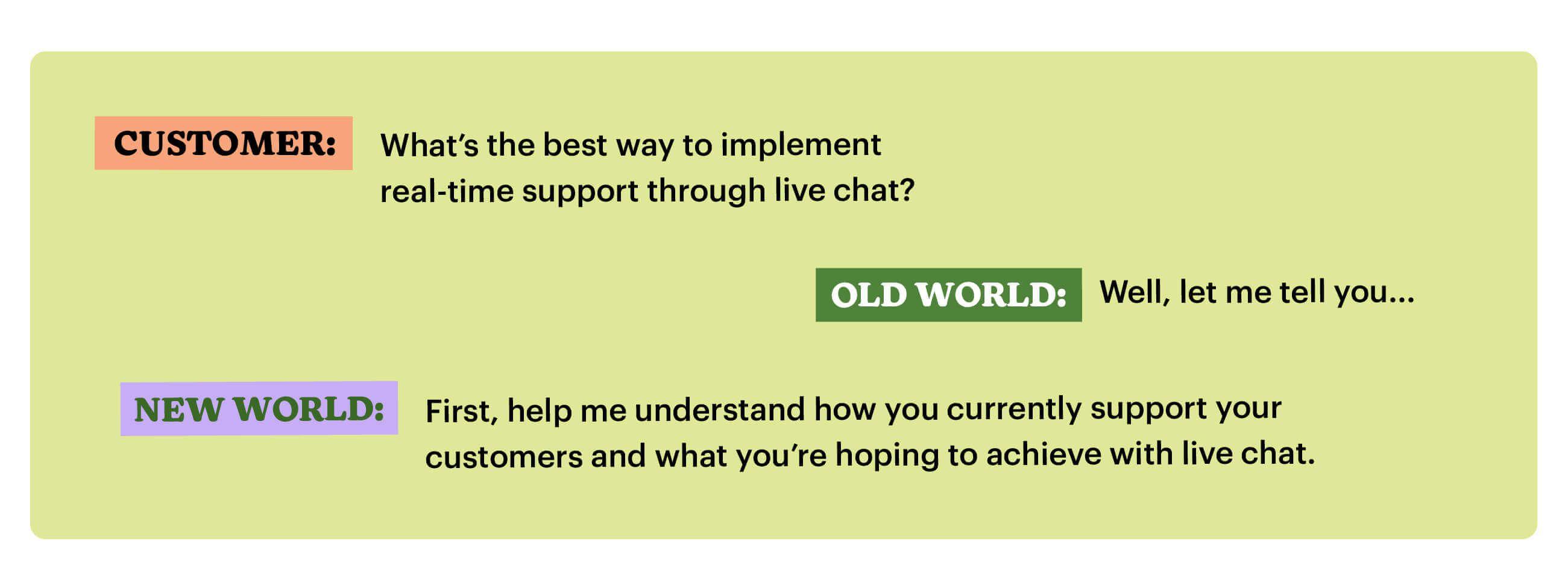 Having authentic sales conversations