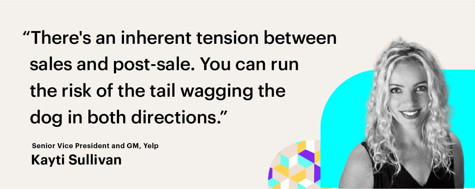 sales and post-sale inherent tension