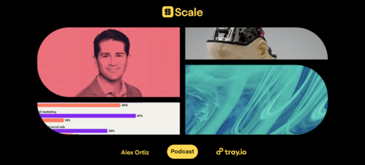 Tray.io's VP of Marketing Alex Ortiz