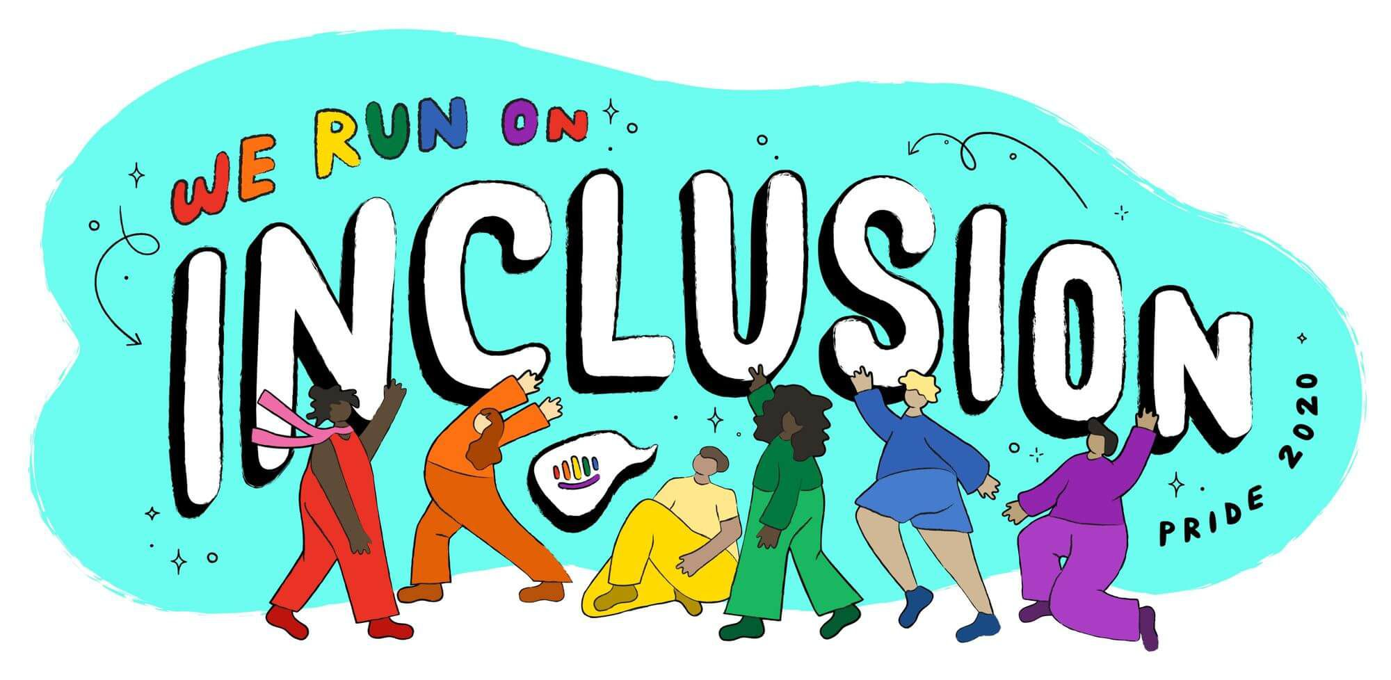 We run on inclusion: Sharing stories and lived experiences