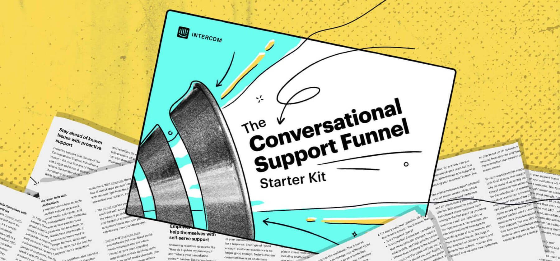 Conversational support funnel guide