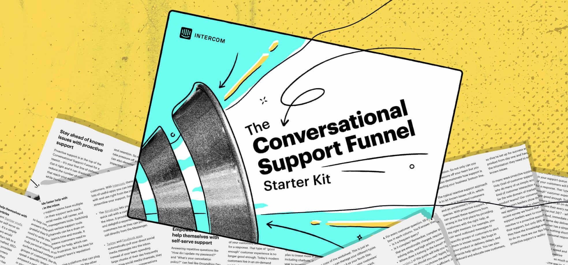Announcing the Conversational Support Funnel Starter Kit