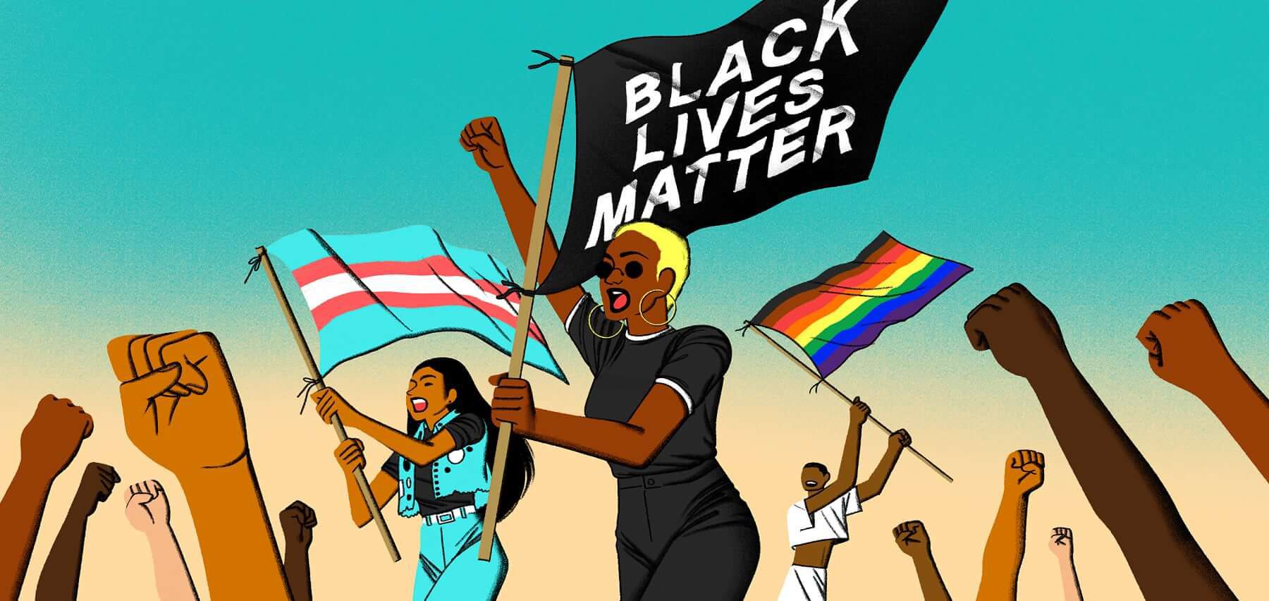 We run on inclusion: On Pride, allyship, and Black Lives Matter