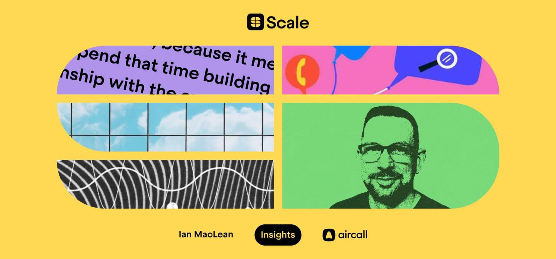 "Aircall's Ian MacLean on helping support teams prevent the ""swivel chair effect"" - hero image"