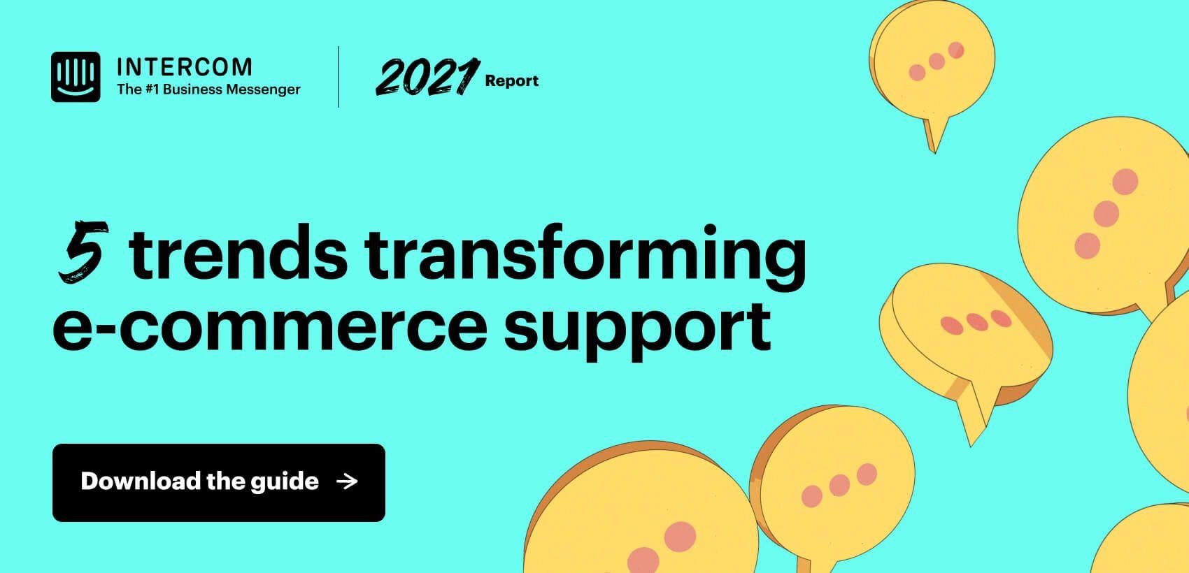 E-commerce trends report –blog horizontal ad