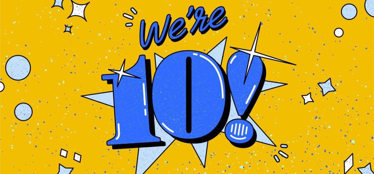Intercom 10th Anniversary