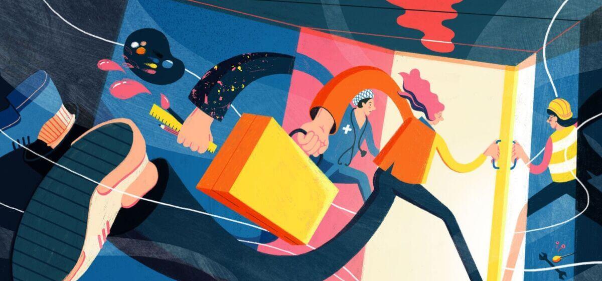 Intercom illustration by Harry Woodgate
