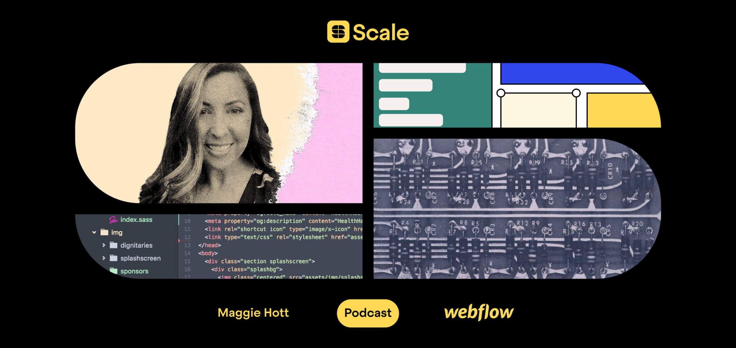 Webflow's Maggie Hott on building a scaleable sales team from the ground up