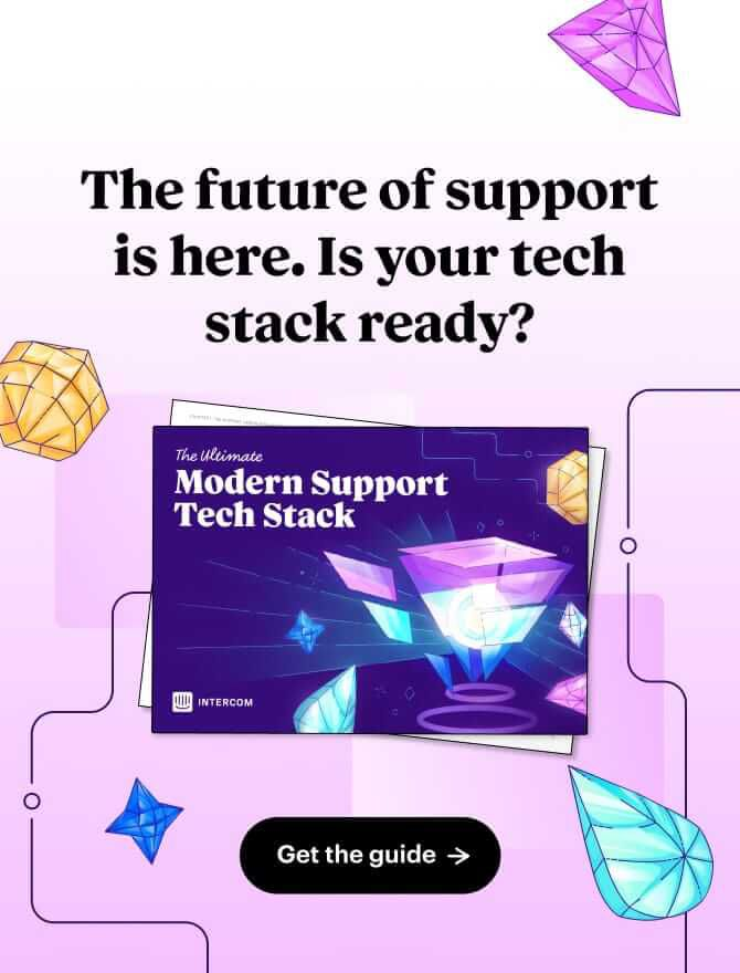 Support Tech Stack blog ad vertical