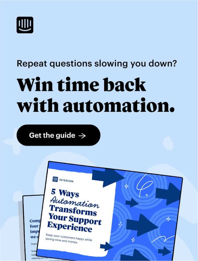 Support Automation Offer CTA