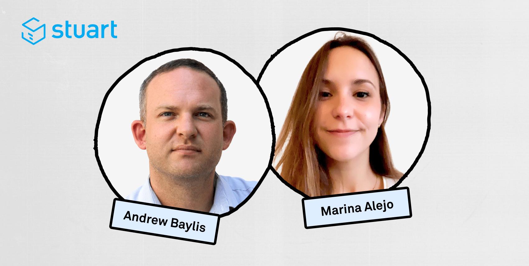 Andrew Baylis and Marina Alejo